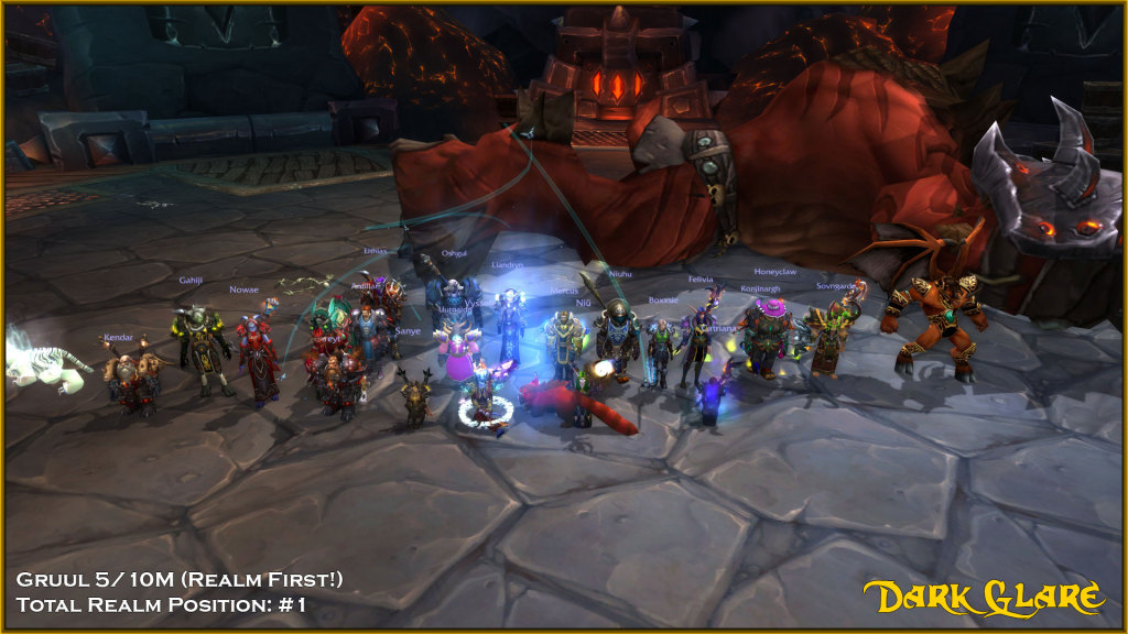 Mythic Gruul Dead! 5/10M #1 Realm #1 Total Progress