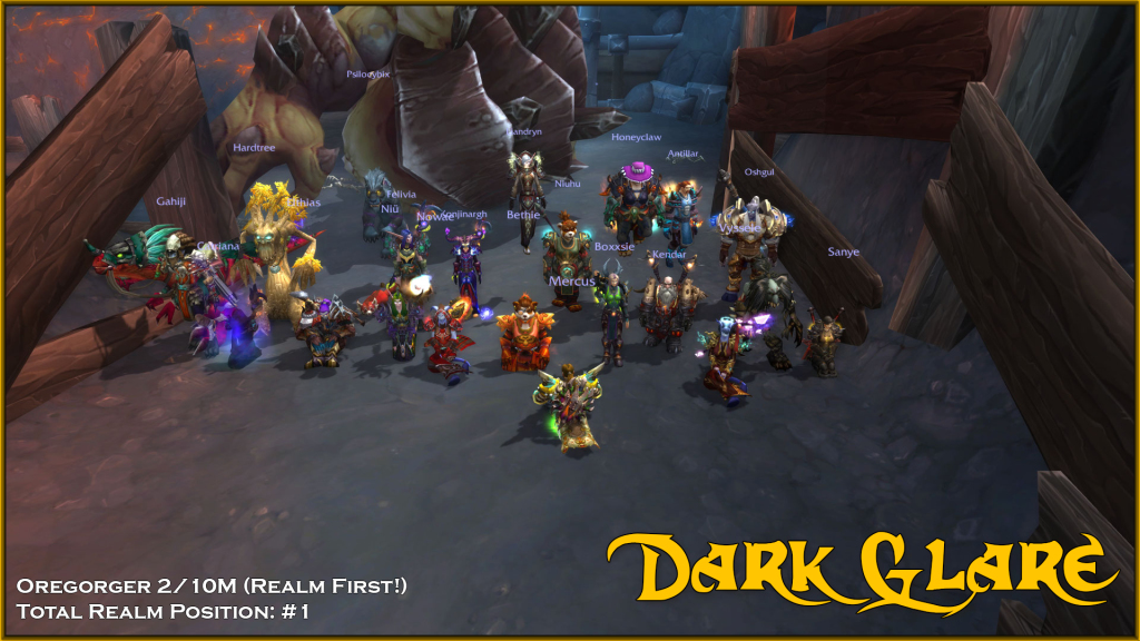 Mythic Oregorger Dead! 2/10M #1 Realm #1 Total Progress